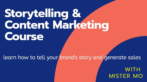 storytelling and content marketing course 600